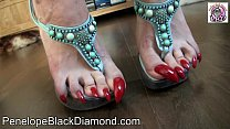 Penelope Black Diamond Footlick Footjob Blowjo...'s Thumb