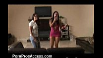Young Bitches Cum Sprayed! video