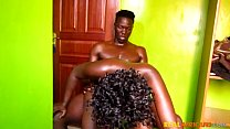 SEXY BLACK AMATEUR COUPLE FUCK AT HOME