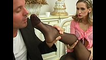 Attractive girl fucked and face gets cumshot