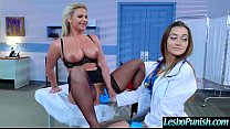 Hot Lez Girl (dani&phoenix) Get Punish By Mean ... thumb