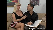 YouPorn - Busty BLonde Cougar Fucks A Hard Young Cock thumbnail