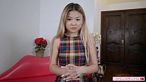 Petite asian stepsis fingered by stepbro