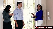 Big Tit Ebony Estate Agent Fucks Married Client - Moriah Mills