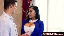 Big Tit Ebony Estate Agent Fucks Married Client - Moriah Mills preview image