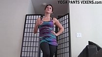 Let me finish my yoga and I will jerk you off JOI