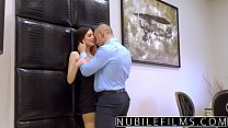 NubileFilms - Hot Fuck With My Step-Daddy After Mom Leaves - 9Club.Top