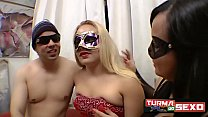 Blonde married came to learn DP with the nephew  - Seleni Sobrinha - Frotinha Porn Star -