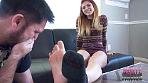Zoe's Stinky Foot Sniffing Payment SMELLY FEET HUMILIATION
