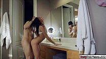 Petite Teen banged hard in the tub