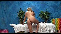 See this hawt 18 year old girl slut get fucked hard by her massage therapist preview image