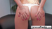 Young and pretty Vanessa Cage gets slammed by a...