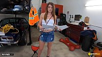 Roadside - Teen Fucks The Mechanic For Discount Preview