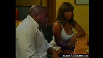 Horny filthy black wife wants to fuck in the clinic pornhub video