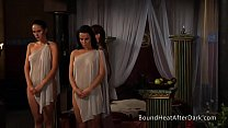Lesbian Slave's Revenge: Standing And Waiting F...