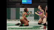 Hot Ebony Babe Gets Fucked in the Ring Image