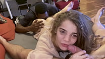Young 18yo Spanish Teen Facilized By Black Step