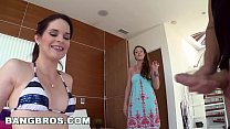 BANGBROS - Mom Teaches Step Daughter How To Fuc...