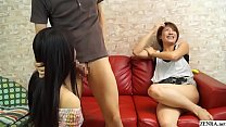 JAV having sex while my friend watches begins S...