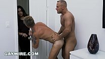 GAYWIRE - Austin Andrews & Eric Summers Play Strip Poker: Winner Takes Cock