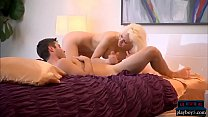 Two busty girls joined by two random guys for a foursome