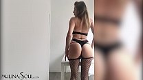 Sexy Babe Masturbate Pussy and Ass Hole - Solo