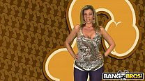 BANGBROS - Can He Score Featuring MILF Sara Jay And A Very Lucky Fan thumbnail