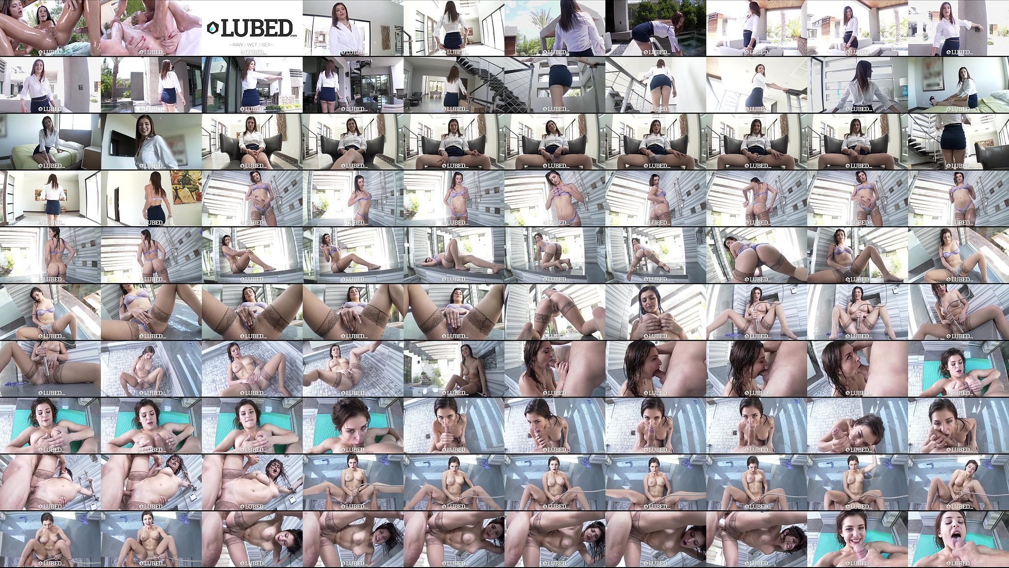 Lubed real estate agent leah gotti fucks in 60fps 10