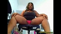 BBW masturbation instruction
