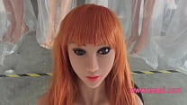 esdoll New for 145cm Full Silicone Sex Love Doll