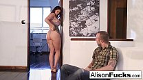 alexandra kroha - Alison drains chad's cock with her mouth thumbnail