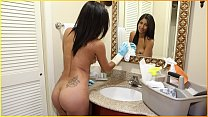 BANGBROS - Latina Maid Jade Jantzen Fucks Her Client Peter Green For Money Thumbnail