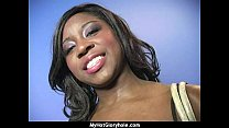 Free download video bokep Ebony backs her booty all the way to the gloryhole 28