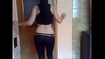 Hot turkish girl caught dancing nude in hiddenc... thumb