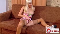 Lena Cova Surprises Neeo In New Lingerie; Amateur, Blonde, hardcore, Blowjob, Couples, Cumshots, HD, thumbnail