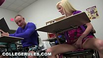COLLEGE RULES - Gorgeous Young Teen Pledges Getting Hazed In Order To Join Sorority thumbnail