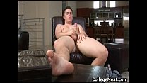 Chad Macon jerking his cute college cock gays