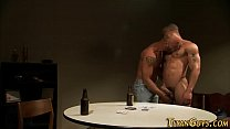Ink gay cum muscled hunk