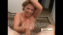 fac... a gets and cock fat big a works lady Mature