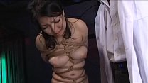 Asian cunt Ayaka Shintani bound in shibari and brutally whipped until she screams.WMV's Thumb