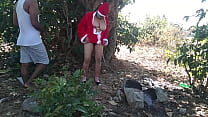 ever best merry christmas Santa Claus fuck me in forest
