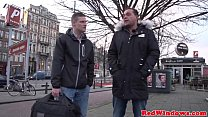 12153 Fat dutch hooker and an inexperienced tourist preview