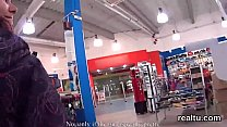 Striking czech kitten is seduced in the shopping centre and plowed in pov's Thumb