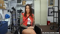 Rocker Chick Destroyed By a Big Black Dick - 9Club.Top