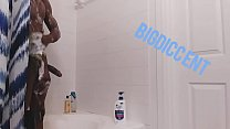 Stroking this dic in the shower(*Off the cloc Edition*)
