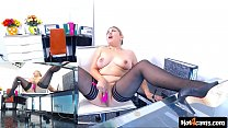 Blonde girl masturbating in the office with massive squirts on the table   LIVE NOW at blondikva.hot4cams.com