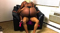 Ebony Big Booty Stripper Came Over For A Fucking's Thumb