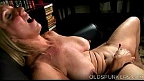Beautiful busty old spunker fucks her fat juicy pussy 4 u pornhub video