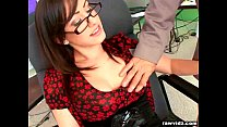 Jennifer White hot secretary fucks her boss thumb
