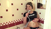 Wet T-Shirt and Squirting in the Shower thumbnail